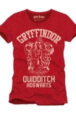 Harry Potter T-Shirt Gryffindor Quidditch Size L
