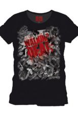 Walking Dead T-Shirt Zombie Herd Size S