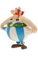 Asterix Figure Obelix holding his pants 8 cm