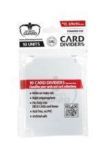 Ultimate Guard Card Dividers Standard Size Transparent (10)