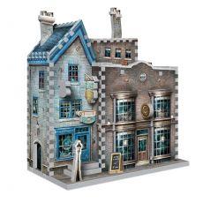 Harry Potter 3D Puzzle DAC Ollivander's Wand Shop & Scribbulus Writing Implements