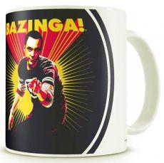 The Big Bang Theory mug Sheldon Says BAZINGA!