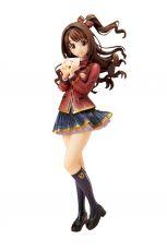 The Idolmaster Cinderella Girls PVC Statue 1/8 Uzuki Shimamura Love Letter Ver. 21 cm