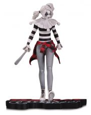 DC Comics Red, White & Black Statue Harley Quinn by Steve Pugh 18 cm