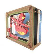Porco Rosso Paper Model Kit Paper Theater Adriatic Sea