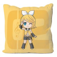 Vocaloid Pillow Case Kagamine Rin 50 x 50 cm