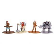 Dungeons & Dragons Nano Metalfigs Diecast Mini Figures 4-Pack Starter Pack 2 4 cm