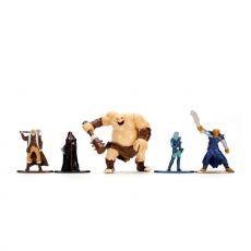 Dungeons & Dragons Nano Metalfigs Diecast Mini Figures 5-Pack Medium Pack B 4 cm