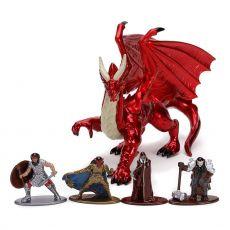 Dungeons & Dragons Nano Metalfigs Diecast Mini Figures 5-Pack Deluxe Pack 4 cm