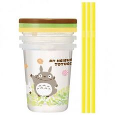 My Neighbor Totoro Cup & Straw Set 3-Set