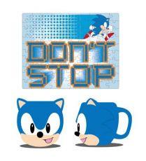 Sonic the Hedgehog Mug & Jigsaw Puzzle Set Sonic