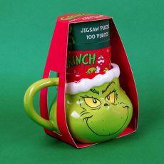 The Grinch Mug & Jigsaw Puzzle Set
