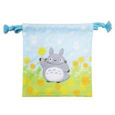 My Neighbor Totoro Laundry Storage Bag Totoro with Flowers 20 x 19 cm