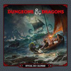 Dungeon & Dragons Calendar 2021 *English Version*