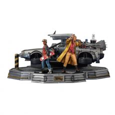 Back to the Future II Art Scale Statues 1/10 Full Set Deluxe 58 cm