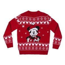 Disney Knitted Christmas Sweater Mickey Size M