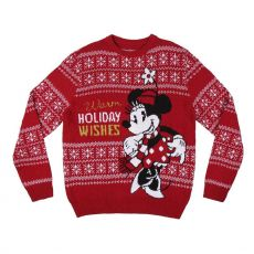 Disney Knitted Christmas Sweater Minnie Size M