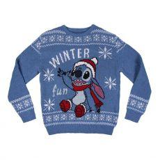 Lilo & Stitch Knitted Christmas Sweater Stitch Size S